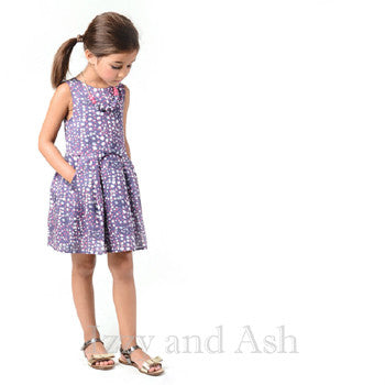 Imoga Necklace Dresses|Imoga Necklace Dress|Imoga Purple Dress|Designer Children's Dresses
