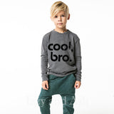 Joah Love|Joah Love Fall 2017|Cool Bro Sweater|Cool Bro|Joah Love Cool Bro|Cool Bro Shirt|Boys Sweaters