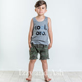 Cool Bro|Cool Bro Shirt|Cool, Bro.|Joah Love Cool Bro Shirt|Joah Love Spring 2017|Cool Bro Tank|Boys Tops