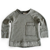 Joah Love|Joah Love Gender Neutral Children's Clothes|Gender Neutral Fall Clothing for Kids|Gray Kids