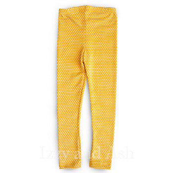 Joah Love|Joah Love Legging|Joah Love Girls Legging|Mustard Legging