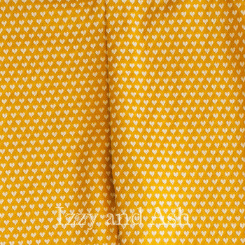 Joah Love Mustard Polka Dot Legging|Joah Love Leggings|Joah Love Polka Dot Leggings