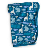 Kickee Pants Infant Boys Peacock Animal Swaddle Blanket|Kickee Pants Swaddle Blanket|Kickee Pants