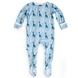 Designer Baby Clothing|Unique Baby Clothes|Bamboo Clothes|Blue Footie