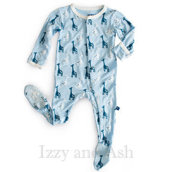 Kickee Pants Infant Boys Pond Giraffe Footie|Kickee Pants Footies|Footies