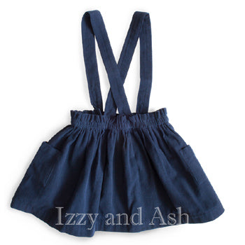 Trendy Kids Dresses|Cute Children's Clothes|Fashionable Kids Clothes|Girls Navy Skirts