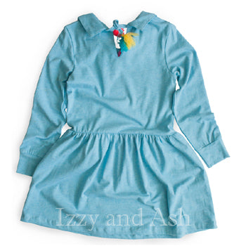 Trendy Kids Clothes|Girls Blue Dresses|Kids Blue dresses|Children Vintage Dresses|Tween Vintage Dresses