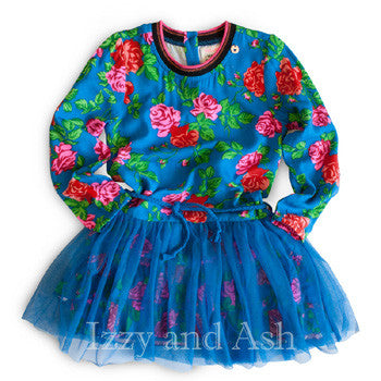 Mim Pi|Mim Pi Blue Dress|Mim Pi Floral Dress|Mim Pi Fall Dress