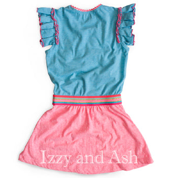 Vintage Girls Dresses|Blue Girls Dresses|Pink Girls Dresses|Tween Clothing|Toddler Dresses