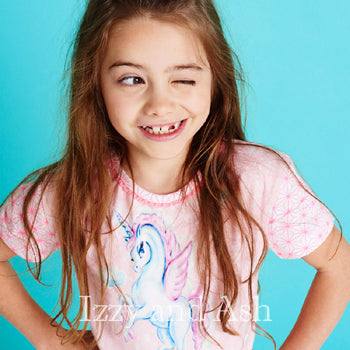 Mim Pi|European Children's Clothes|Girls Pink Dresses|Children Pink Dress|Kids Pink Dress|Unicorn Pink Dress