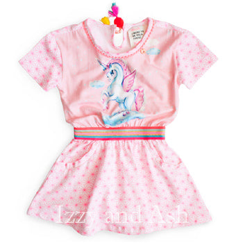 Mim Pi|Mim Pi Clothing|European Children's Clothes|European Girls Dresses|Tween Dresses|Girls Unicorn Dresses