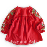 Designer Children's Clothing|Designer Girls Clothing|Girls Embroidered Tops