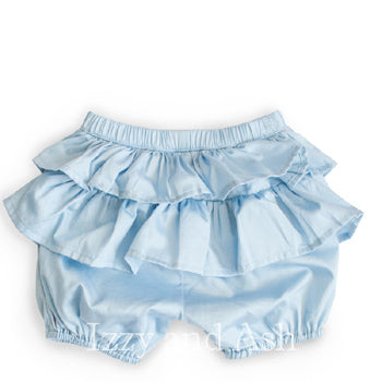 Baby blue bloomers