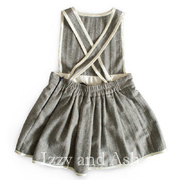pleat dress|overall dress|children overall|kids overalls|Vierra Rose Aliya Dress|Vierra Rose Girls Aliya Dress