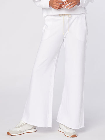 Griffith Wide Leg Crop in Terry