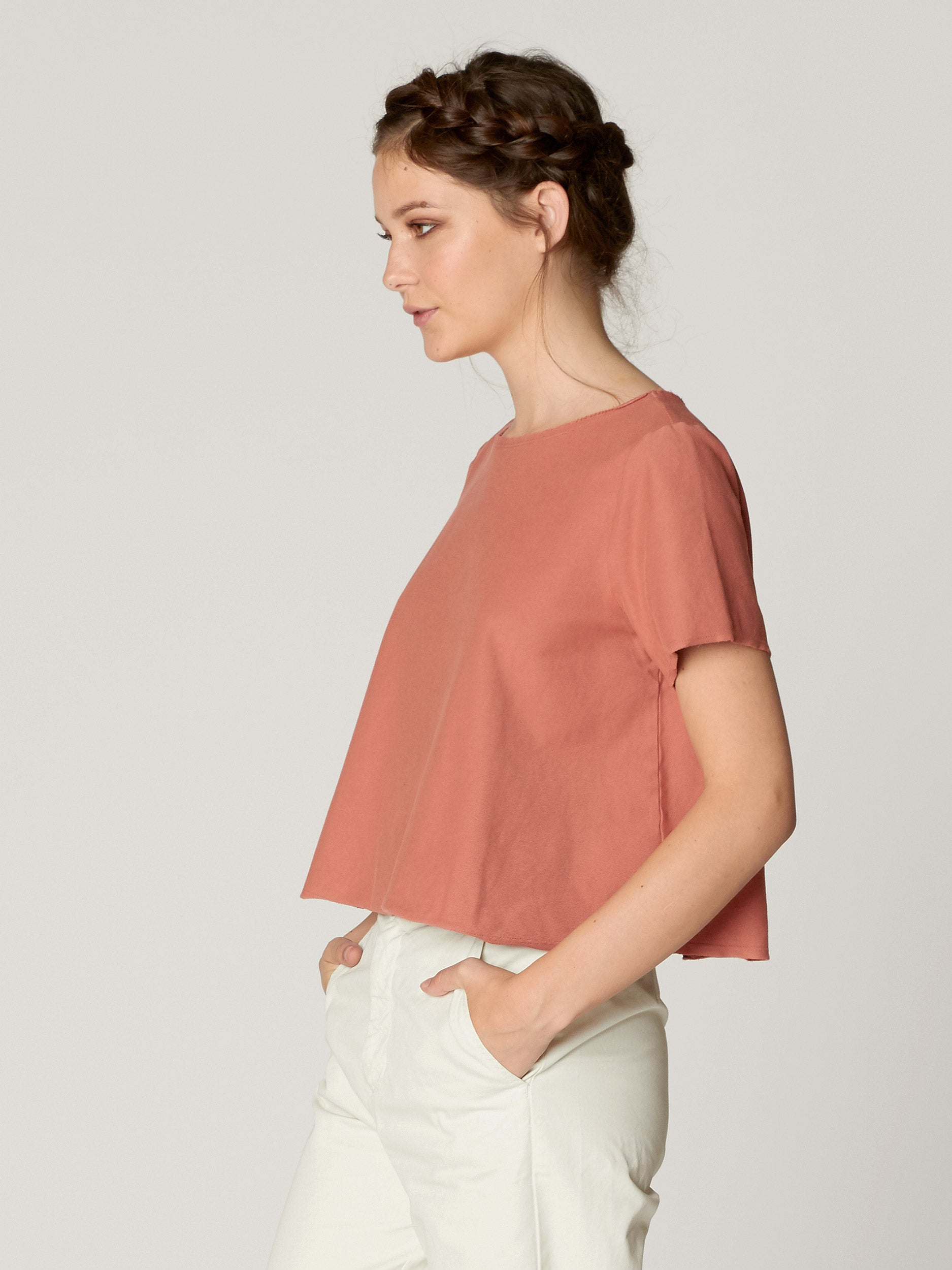 Knox Boxy Crop