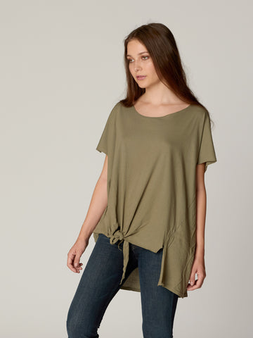 Addilyn Drapey Tee Shirt Dress