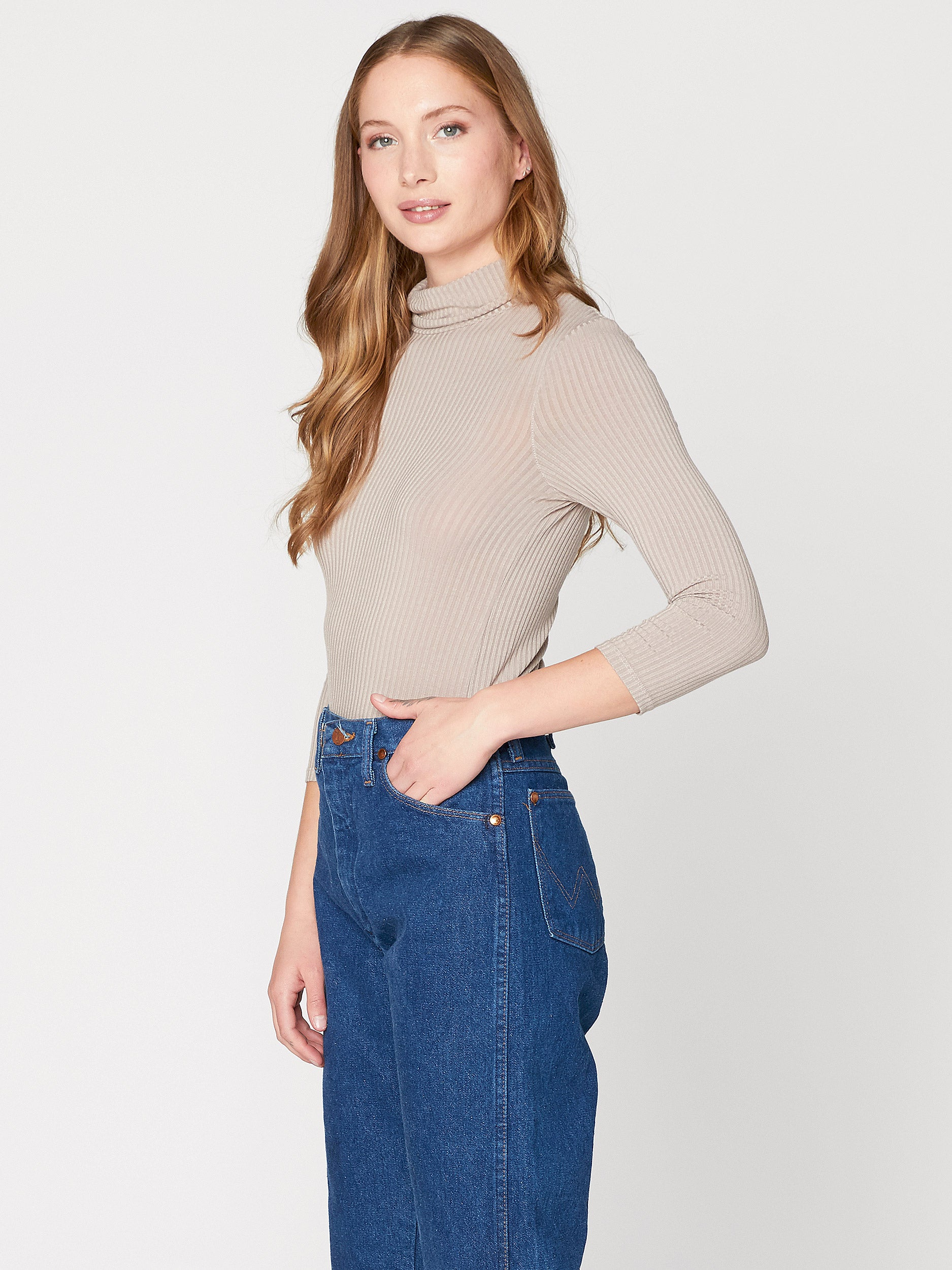 Kenzi Rib Turtle Neck