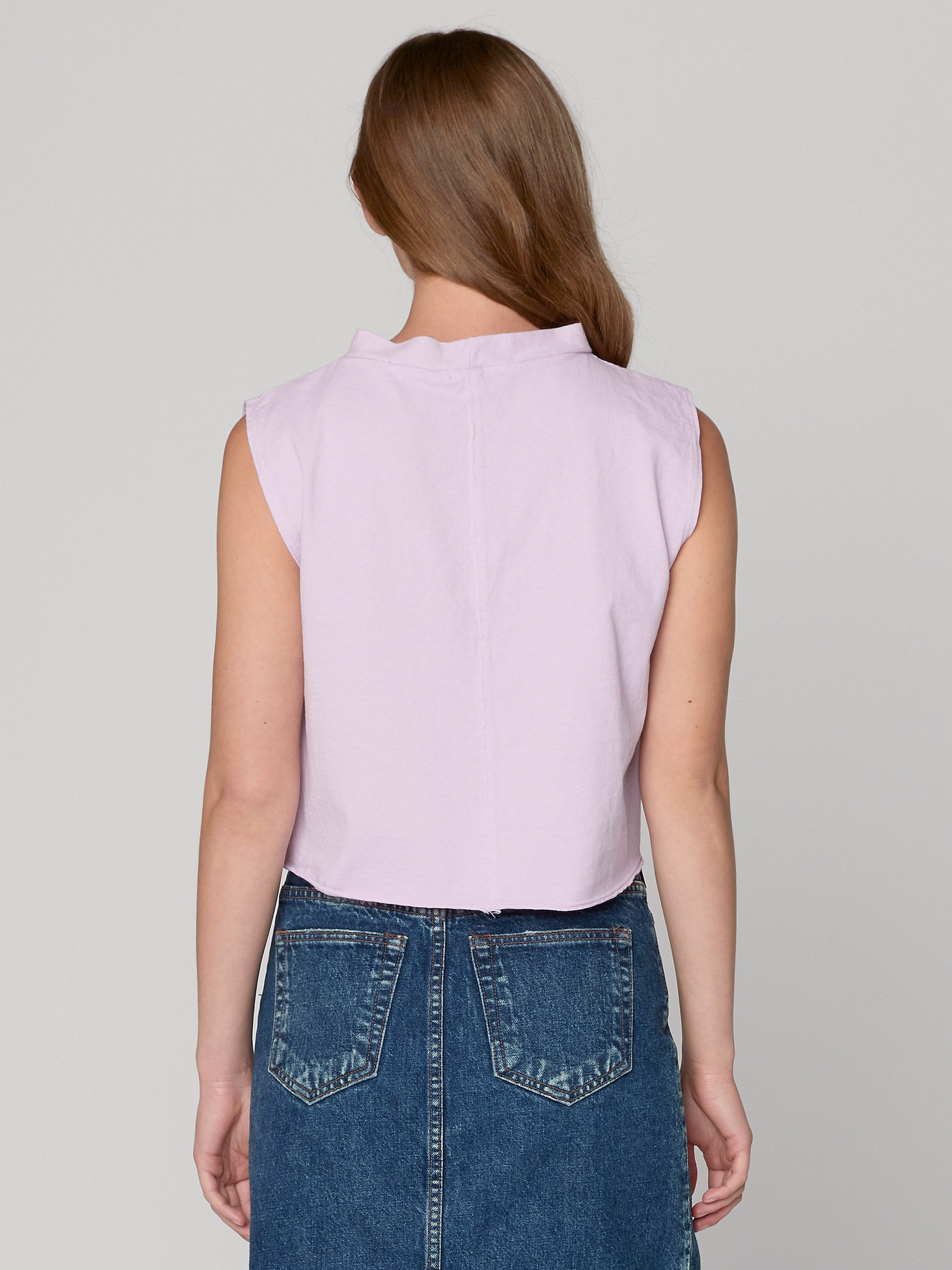 Molly Boxy Mock-Tee