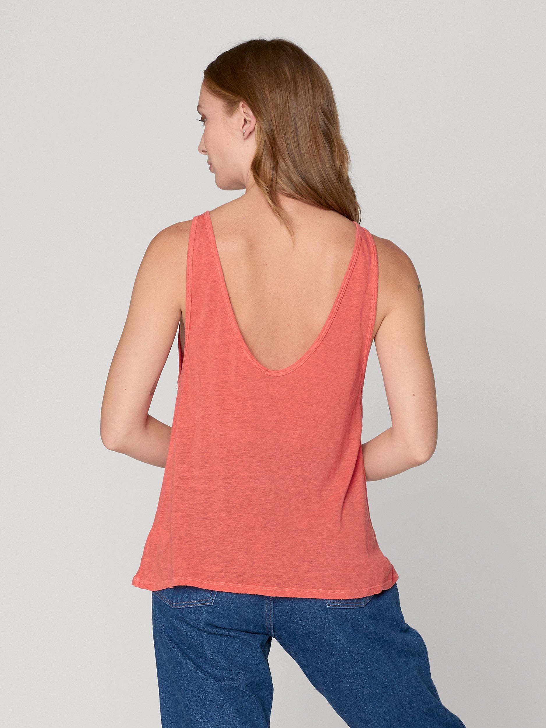 Ella Low-Back Scoop Tank