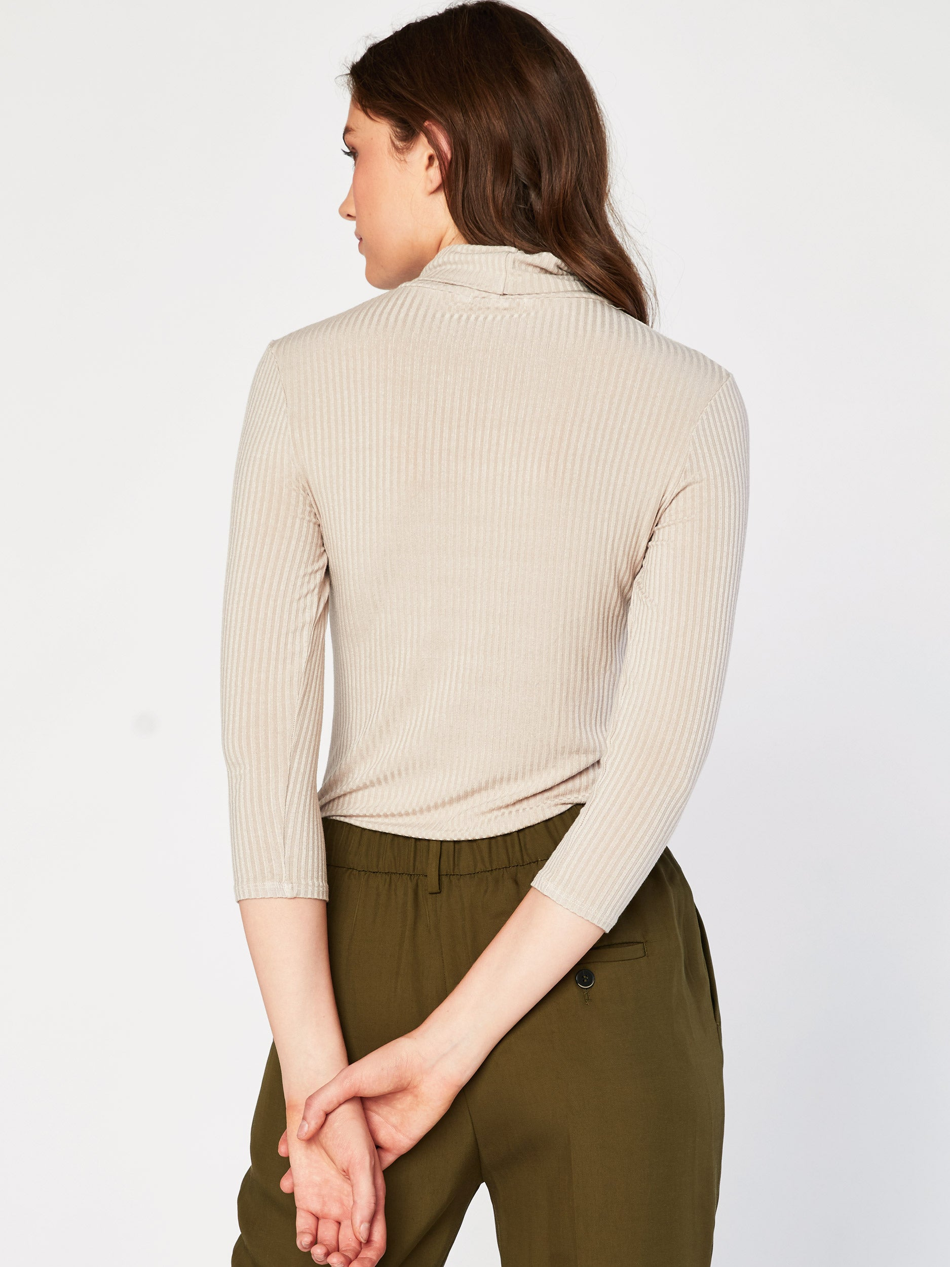 Maude Rib Turtle Neck