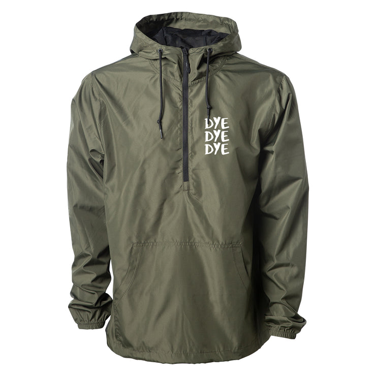 Cowles Pullover Windbreaker - Olive