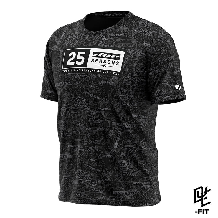 DYE-Fit 25 Seasons Shirt - Black