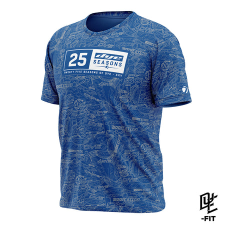 DYE-Fit 25 Seasons Shirt - Blue