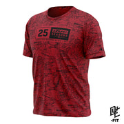 DYE-Fit 25 Seasons Shirt - Red
