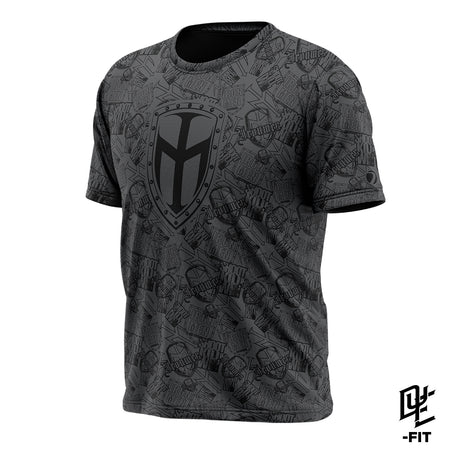DYE-Fit IRONMEN Logos - Black/Gray