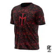 DYE-Fit IRONMEN Logos - Red/Black