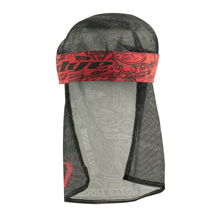 Head Wrap Dye Logoflauge Red/Black