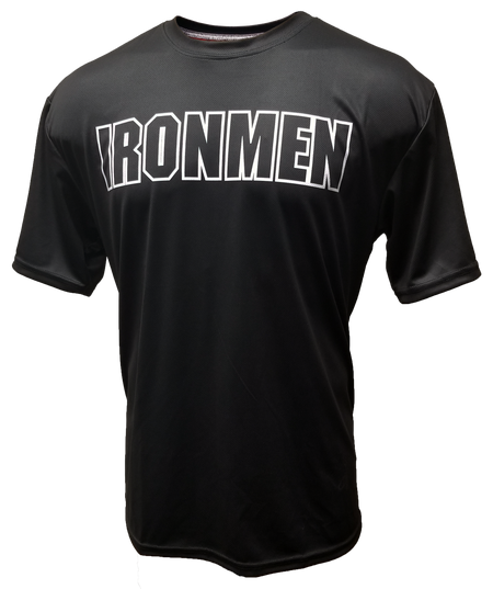 DYE-Fit Ironmen Flag - Black