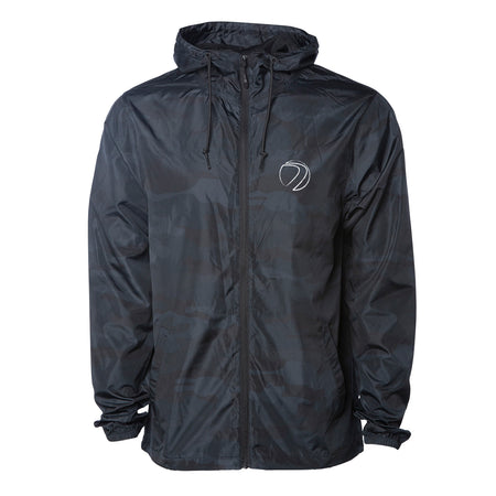 Gaslamp Windbreaker - Black Camo