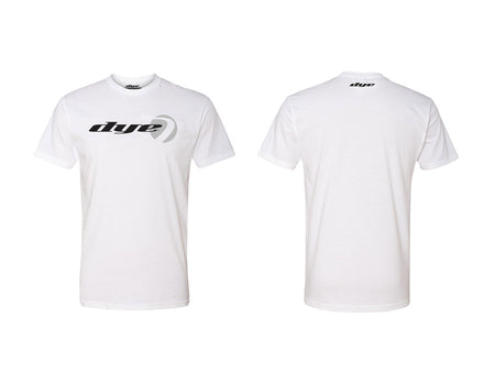 T-Shirt DYE Logo Lock White