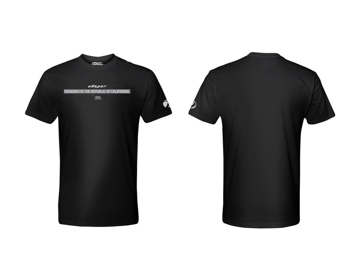 T Shirt Dye Republic Black Dye Paintball