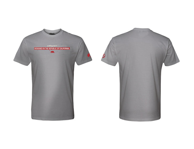 T Shirt Dye Republic Grey Dye Paintball