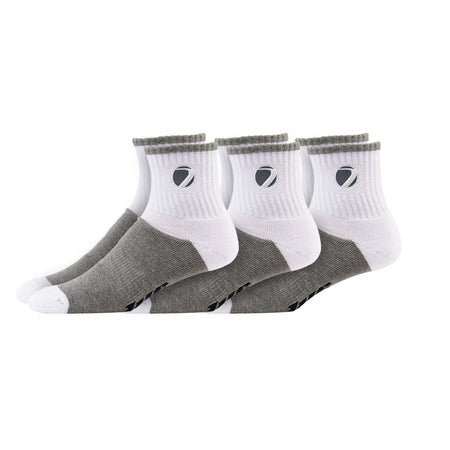 Sock Sport wht/gry L/XL 3-pack