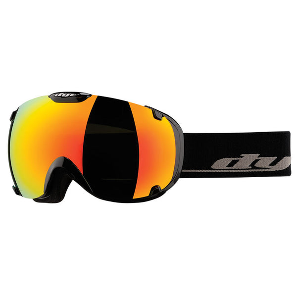 DYE Snow T1 Goggle | Solid Black w/ Bronze Fire