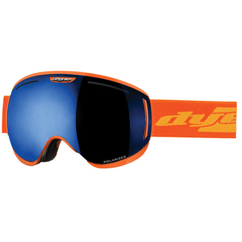 DYE Snow CLK Goggle | Orange POLARIZED w/ 3x Lenses
