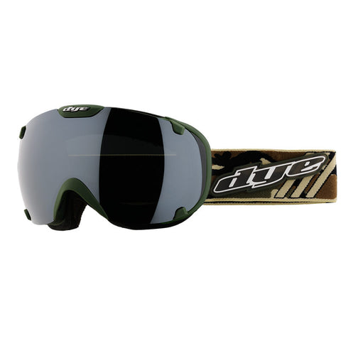 DYE Snow T1 Goggle | Camo with 2x Lenses