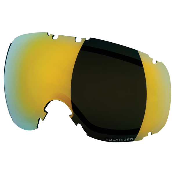 DYE Snow T1 Lens | Smoke Northern Lights Polarized