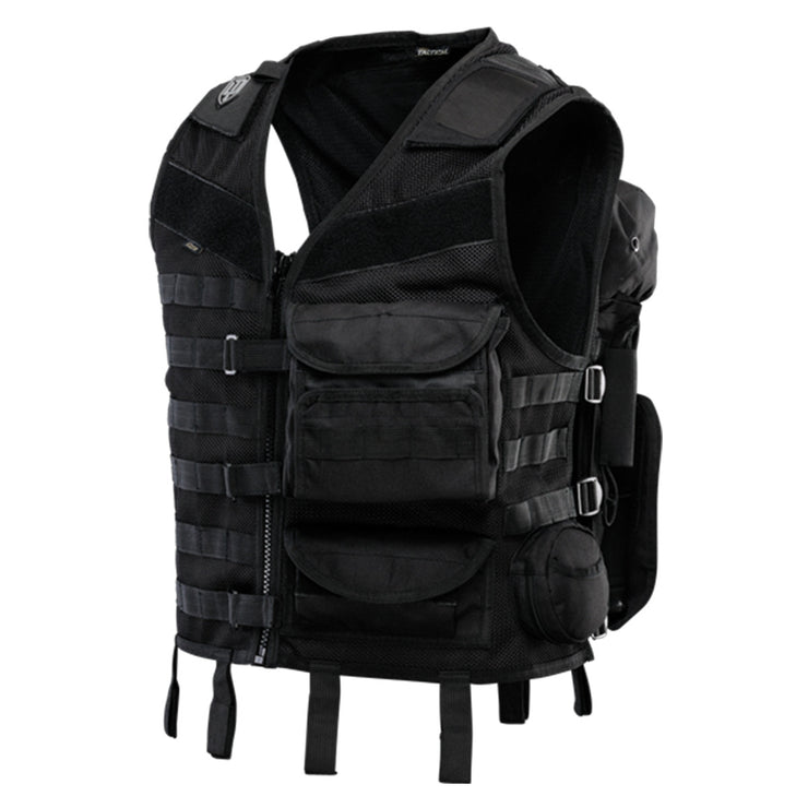 Tactical Vest GTG Bravo - (Black or DyeCam)