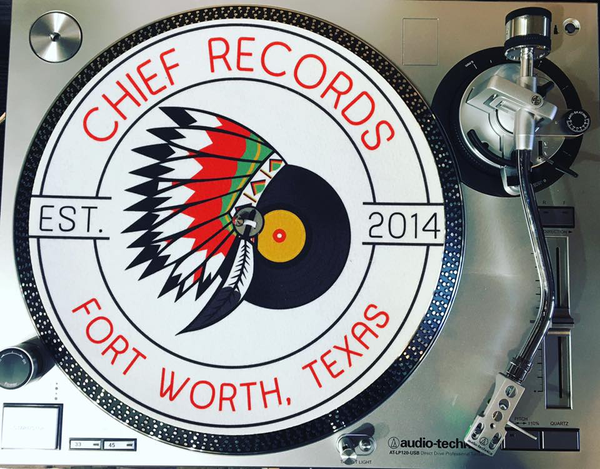 Groovy Custom Chief Records Slipmat White