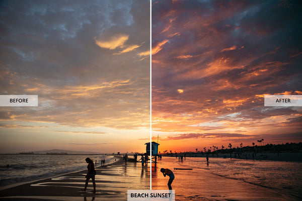 "Ryan Longnecker 'Beach Sunset"" Adobe Lightroom Preset"