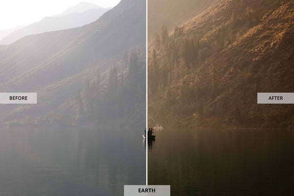 "Ryan Longnecker 'Earth"" Adobe Lightroom Preset"