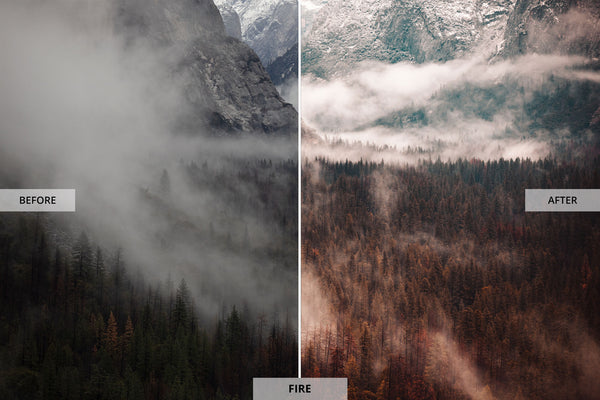 "Ryan Longnecker 'Fire"" Adobe Lightroom Preset"