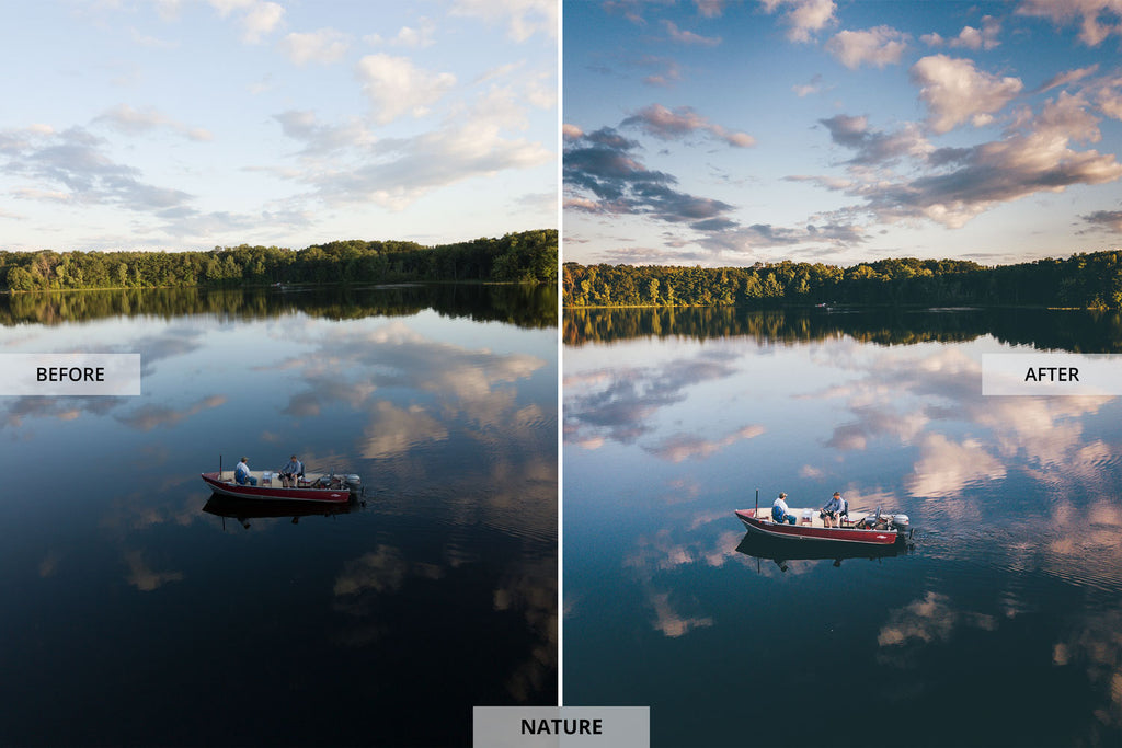 Andrew Optics Nature Before and After Images