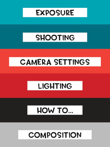 Quick Tip Photography and Camera Cheat Sheet