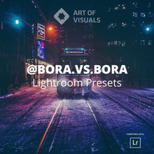 Load image into Gallery viewer, AOV x @Bora.vs.Bora Lightroom Presets